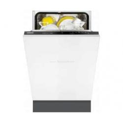 Masina de spalat vase incorporabila Zanussi ZDV12001FA  Clasa A 9 seturi 5 programe 45 cm